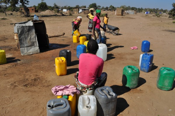 Respuesta de la OIM al ciclón Idai, Beira, Mozambique