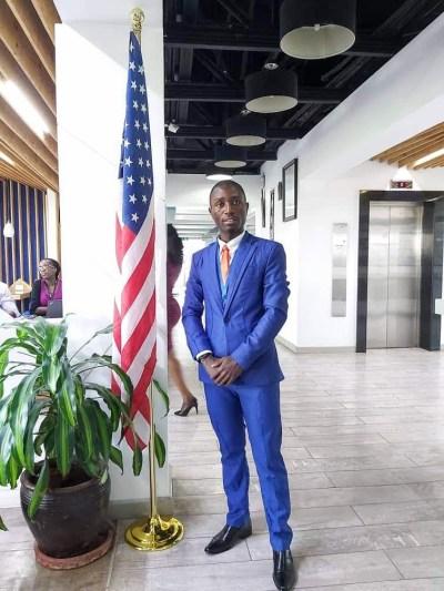 Cédrick Joven Líder Africano YALI