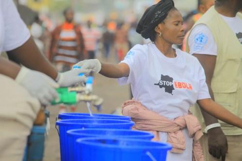 Plan de respuesta al ébola en la RDC